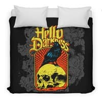 Hello Darkness - duvet-cover - small view