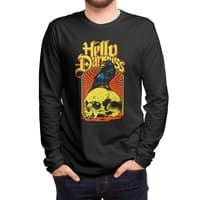 Hello Darkness - mens-long-sleeve-tee - small view
