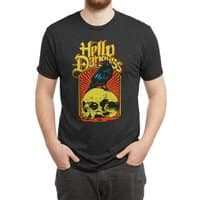 Hello Darkness - mens-triblend-tee - small view