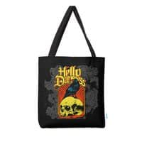 Hello Darkness - tote-bag - small view