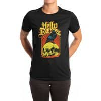Hello Darkness - womens-extra-soft-tee - small view