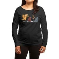 Kaiju Road - womens-long-sleeve-terry-scoop - small view