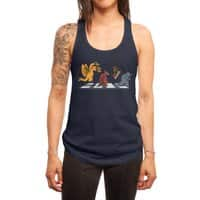 Kaiju Road - womens-racerback-tank - small view