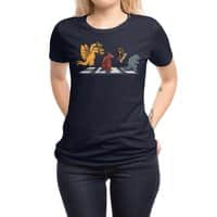 Kaiju Road - womens-regular-tee - small view