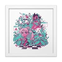 A N I M E W A V E - white-square-framed-print - small view