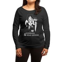 Dungeons & Drag Queens - womens-long-sleeve-terry-scoop - small view