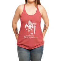Dungeons & Drag Queens - womens-triblend-racerback-tank - small view
