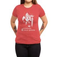 Dungeons & Drag Queens - womens-triblend-tee - small view