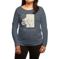 booty call. - womens-long-sleeve-terry-scoop - small view