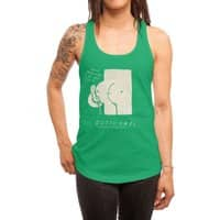 booty call. - womens-racerback-tank - small view