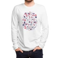 Food Fight! - mens-long-sleeve-tee - small view