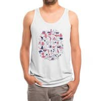 Food Fight! - mens-triblend-tank - small view