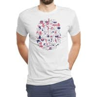 Food Fight! - mens-triblend-tee - small view