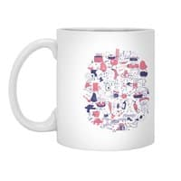 Food Fight! - white-mug - small view