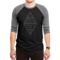 Earth, Air, Fire & Water - triblend-34-sleeve-raglan-tee - small view