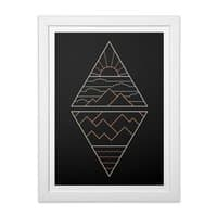 Earth, Air, Fire & Water - white-vertical-framed-print - small view