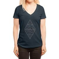 Earth, Air, Fire & Water - womens-deep-v-neck - small view