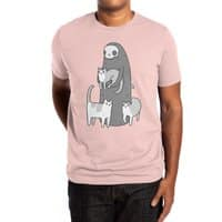 The grim and her cats - mens-extra-soft-tee - small view