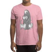 The grim and her cats - mens-regular-tee - small view