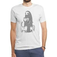 The grim and her cats - mens-triblend-tee - small view