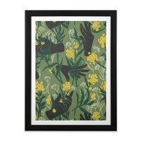 Green Thumb - black-vertical-framed-print - small view