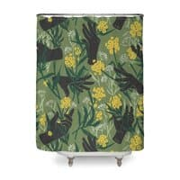 Green Thumb - shower-curtain - small view