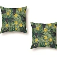 Green Thumb - throw-pillow - small view