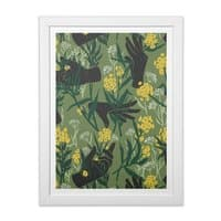 Green Thumb - white-vertical-framed-print - small view