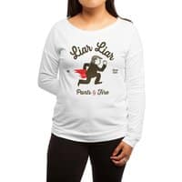 Liar Liar… - womens-long-sleeve-terry-scoop - small view