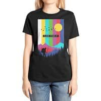 Life in technicolor - womens-extra-soft-tee - small view