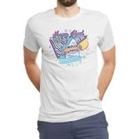 HUNGRY SHARK - mens-triblend-tee - small view