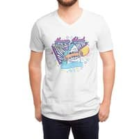 HUNGRY SHARK - vneck - small view