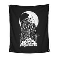 The Kiss of Death - indoor-wall-tapestry-vertical - small view