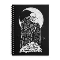 The Kiss of Death - spiral-notebook - small view