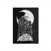 The Kiss of Death - vertical-mounted-aluminum-print - small view