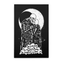 The Kiss of Death - vertical-stretched-canvas - small view