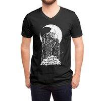 The Kiss of Death - vneck - small view