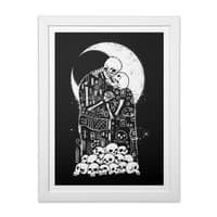 The Kiss of Death - white-vertical-framed-print - small view