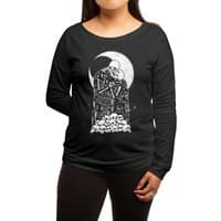The Kiss of Death - womens-long-sleeve-terry-scoop - small view