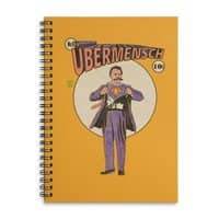 Ubermensch - spiral-notebook - small view