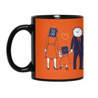 Family Time  - black-mug - small view