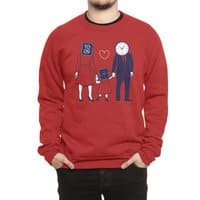 Family Time  - crew-sweatshirt - small view