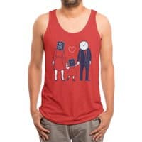 Family Time  - mens-triblend-tank - small view