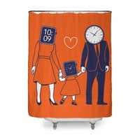 Family Time  - shower-curtain - small view