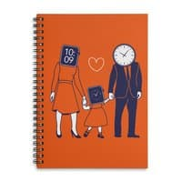 Family Time  - spiral-notebook - small view