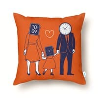 Family Time  - throw-pillow - small view
