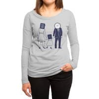 Family Time  - womens-long-sleeve-terry-scoop - small view