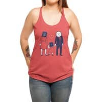 Family Time  - womens-triblend-racerback-tank - small view