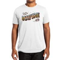 Nature Greetings - mens-extra-soft-tee - small view