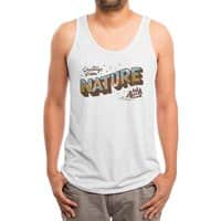 Nature Greetings - mens-triblend-tank - small view